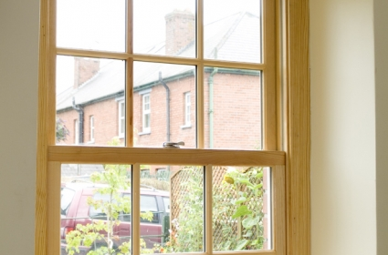 Wooden Sliding Sash Window