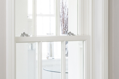 Weighted Cardinal Georgian Sash Window
