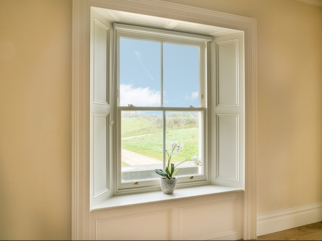 Victorian Wood Sliding Sash Window